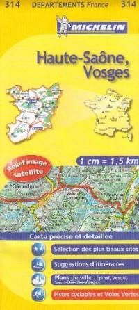 Haute-Saône, Vosges : 1/150 000