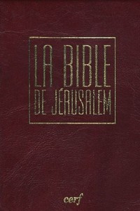 La Bible de Jérusalem : Edition PVC bordeaux