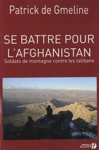 Se battre pour l'Afghanistan