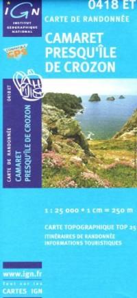 Camaret / Presqu'Ile De Crozon GPS: Ign.0418et
