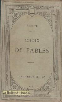 Esope : choix de fables