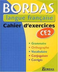 BLF - CAHIER D'EXERCICES CE2    (Ancienne Edition)