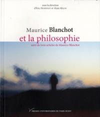 Blanchot et la philosophie
