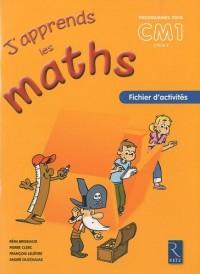 J'APPRENDS LES MATHS CM1 PACK 6EX FICHIER D'ACTIVIVITES Livre scolaire