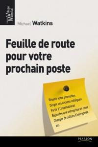 Feuille de route pour votre prochain poste