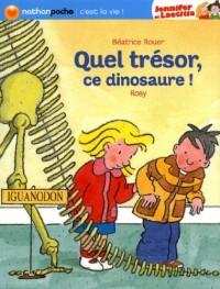 Quel Tresor  Ce Dinosaure  - Nathan Poche C'Est la Vie