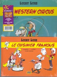 Lucky Luke, 2 BD pour le prix d'une : Western Circus - Le Cuisinier français (gratuit)