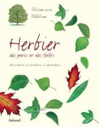 Herbier des parcs et des forêts : 35 arbres et feuilles à identifier