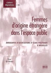 Femmes d'origine étrangère dans l'espace public