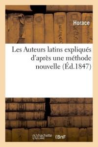 Les Auteurs Latins  ed 1847