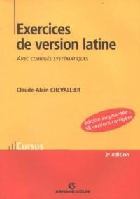 Exercices de version latine : Avec corrigés systématiques