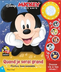 Grand album musical et lumineux Mickey