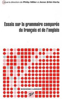 Essais sur la grammaire comparée du français et de l'anglais