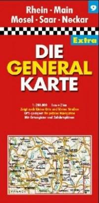 All.9 Rheinland-Pfalz/Saarland/Hessen Sud - 1/200.000