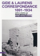 Gide et Laurens : Correspondance, 1891-1934