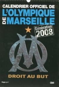 Calendrier l'Olympique de Marseille Generation  2008