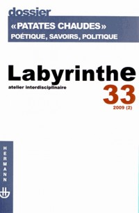 Revue Labyrinthe N33