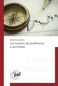 Les actions de préférence: en droit OHADA