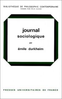 Journal sociologique
