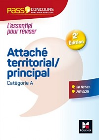 Pass'Concours - Attaché territorial/Attaché principal - Catégorie A - Entrainement et révision