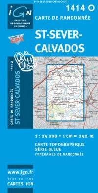 St-Sever-Calvados GPS: Ign1414o