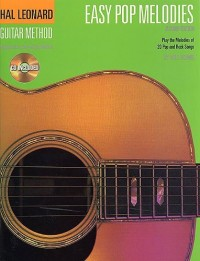 Hal Leonard Guitar Method: Easy Pop Melodies (CD Edition). Partitions, CD pour Guitare