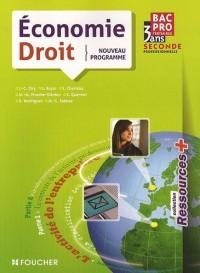 Economie-Droit 2e Bac Pro Tertiaires Ressources +