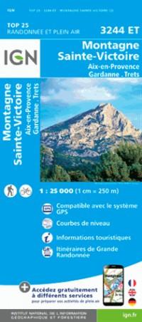 3244et Montagne Sainte-Victoire/Aix-en-Provence/Gardanne/Trets