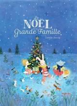 Le Noël de la grande famille - livre+doudou