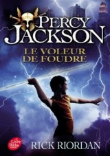 Percy Jackson - Tome 1: Le voleur de foudre [Poche]