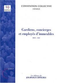 Gardiens, concierges et employés d'immeubles - Brochure 3144. IDCC : 1043