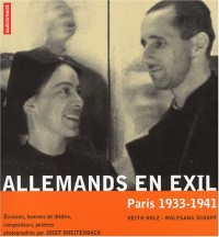 Allemands en exil, Paris 1933-1941