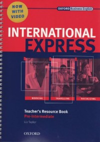 International express pre intermediate 2010 teacher's resource book with DVD