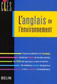 L'anglais de l'environnement