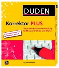 Logiciel Duden Korrektor 4.0 Plus allemand