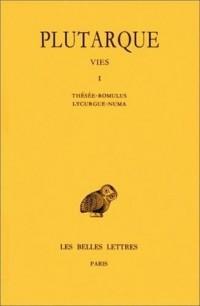 Les Vies parallèles, tome 1 : Thésée-Romulus ; Lycurgue-Numa
