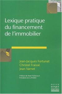 Lexique pratique du financement de l'immobilier