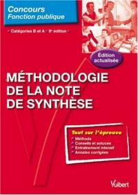 N°4 Méthodologie de la note de synthese - cat. B et A