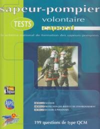 Tests Caporal Pompier Volontaire