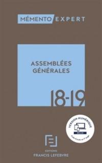 Mémento expert ; assemblées générales 2018-2019