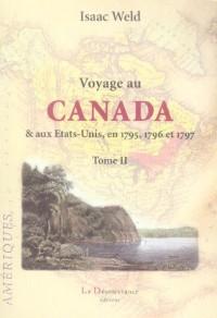 Voyage au Canada et aux Etats-Unis