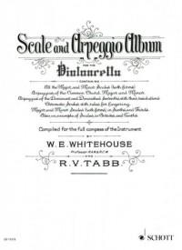 SCHOTT TABB R. V. / WHITEHOUSE WILLIAM EDWARD - SCALE AND ARPEGGIO ALBUM - CELLO