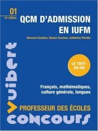 QCM d'admission en IUFM