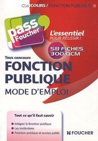 Fonction publique, mode d'emploi : Concours Fonction Publique