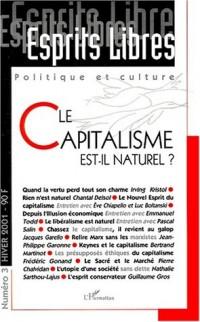 Le capitalisme est-il naturel?
