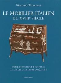 Le mobilier italien du XVIIIe siècle