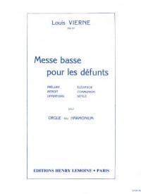 Messe basse pour les défunts Op.62