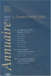 Annuaire de l'Institut Michel Villey : Volume 1, 2009
