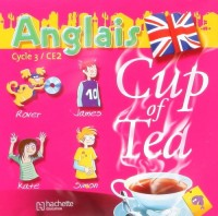 Cup of tea anglais CE2 - double CD audio classe - ed.2006