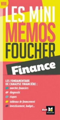 Les mini memos Foucher - Finance